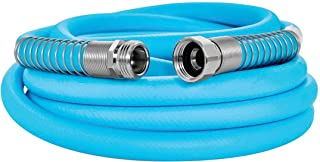 Camco EvoFlex 25-Foot Hose   5/8-inch Diameter   Designed for Recreational Use   Drinking Water Safe   Super Flexible (22594)