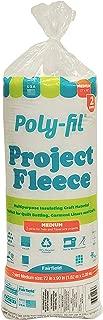 Fairfield Poly- Fleece Polyester Batting Twin Size, 72