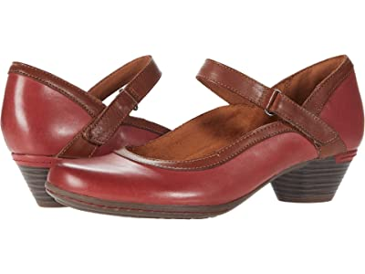 Cobb Hill Laurel Mary Jane (Red Leather) Women