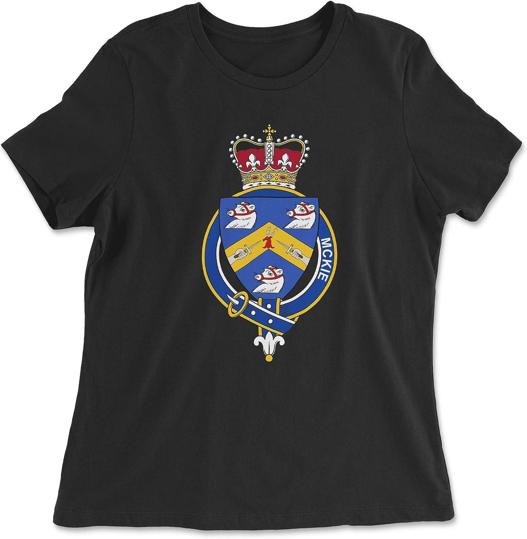 HARD EDGE DESIGN Women's Scottish Garter Family McKie T-Shirt