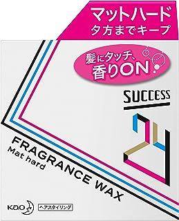 サクセス 24 フレグランス ワックス 【 マットハード 】 80g 〈 髪にタッチ 香りオン 髪型も香りも夕方までキープ 〉 爽やかなフルーティフローラルの香り ヘアワックス 80グラム (x 1)