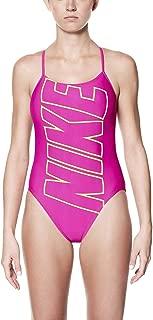 Women's Performance Logo V-Back Swimsuit