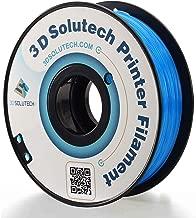 3D Solutech See Through Aqua Blue 3D Printer PLA Filament 1.75MM Filament, Dimensional Accuracy +/- 0.03 mm, 2.2 LBS (1.0KG)