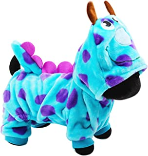 Mumoo Bear Winter Dragon Style Pet Dog Clothes Costume Suit Puppy Jumpsuit Apparel, Small