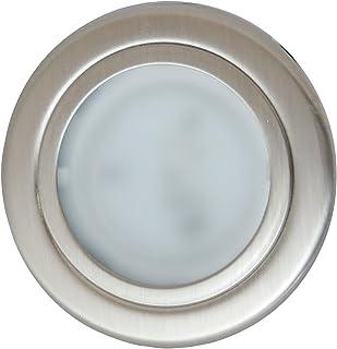 ITC Cool White//Blue 1.75-Inch Round LED Courtesy Light 69320SS-WB-DB