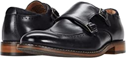 Farwell Wing Tip Double Monk Strap