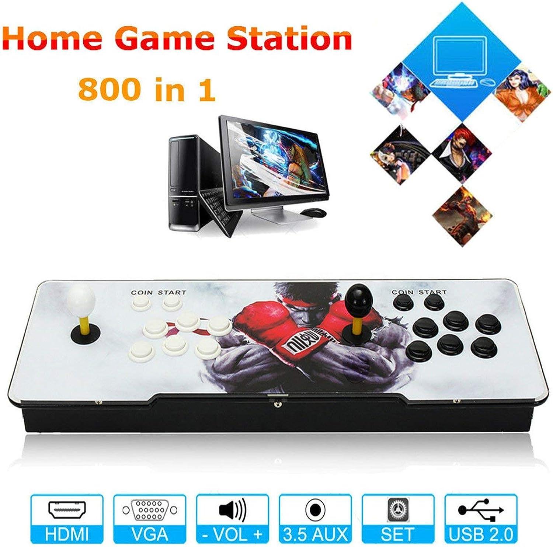 varios tamaños Dailyinshop 800 800 800 Kit de Inicio Juegos Arcade multijugador Juego de Consola Conjunto con Doble Palanca de Mando (Color Mezclado)  comprar barato