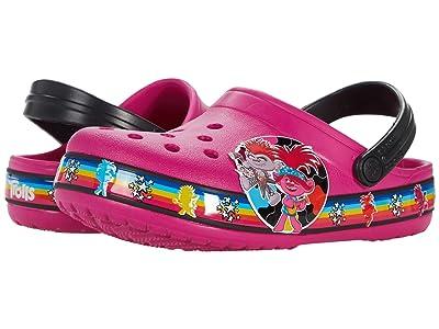 Crocs Kids Fun Lab Trolls 2 Band Clog (Toddler/Little Kid) Girl