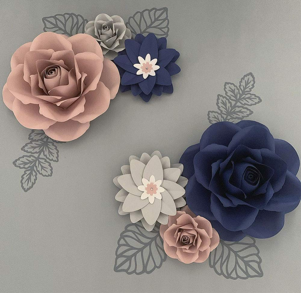 Paper Flower Price reduction Cheap super special price for Wall. Backdrop Size Pre-Assemb Décor. Giant