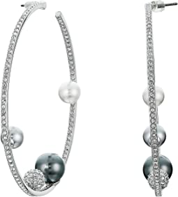 Canopy Hoop Pierced Earrings