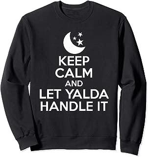 Keep Calm And Let Yalda Handle It Iran Traditional Holiday Sweatshirt
