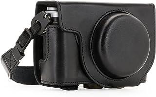 MegaGear MG709 Ever Ready - Custodia in pelle per fotocamera Fujifilm X70, colore: Nero