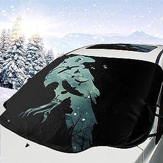 MaMartha Car Windshield Snow Cover Fairy Tail Erza avec Pare-Brise pour Voiture Katana Pare-Soleil pour enlever la Glace Ajustement Universel