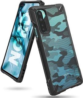 كفر ون بلس نورد رانجيكي فيوجن مقاوم للصدمات ويعمل مع الشحن اللاسلكي OnePlus Nord - اسود جيشي
