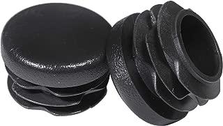 Prescott Plastics 1 Inch Round Plastic Plug, Pipe Tubing End Cap, Durable Chair Glide (20)