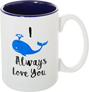 I Whale Always Love You - Large 15 oz Double-Sided Funny Coffee Tea Mug