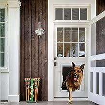 Ideal Pet Products Designer Series Plastic Pet Door with Telescoping Frame