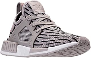 adidas Womens NMD XR1 (Womens 6, Clear Granite/Clear Granite/Core Red)