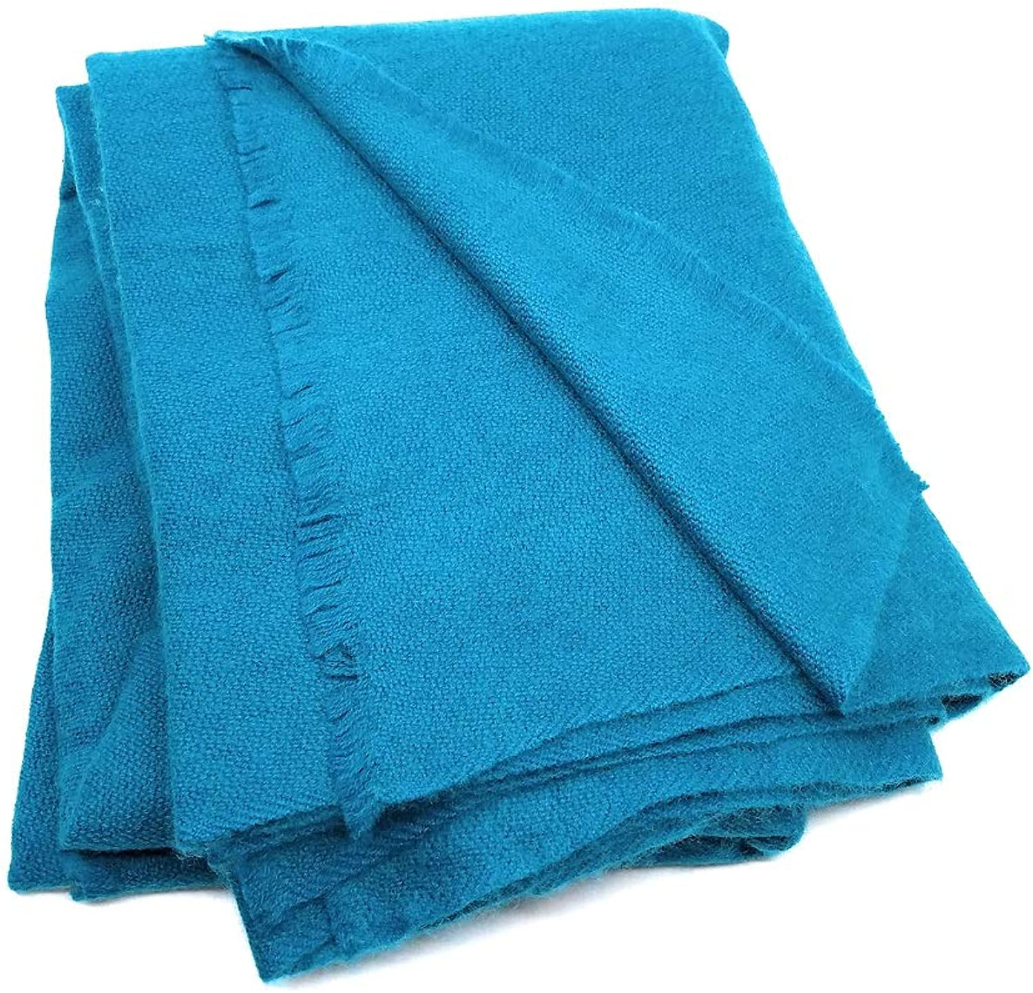 100% Soft Extra Fine Cashmere Wool Large Shawl or Wrap Natural Dyes Made in Nepal