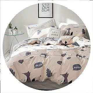 retro store Pineapple Bedsheet Pillowcase Duvet Cover Sets 100% Cotton Bedlinen Twin Double Queen King Size Bedding Set,20181995,UStwin 173x218