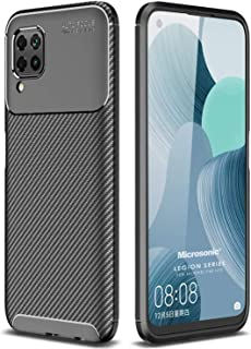 Microsonic Huawei P40 Lite Kılıf, Legion Series, Siyah