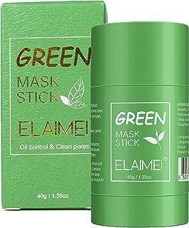 Green Mask Stick, Mascarilla de Limpieza Profunda, Mascarilla en Barra Sólida, Purificante en Barra de Arcilla, Mascarilla...
