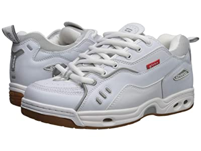 Globe CT-IV Classic (White Action Leather/Gum) Skate Shoes