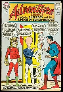 ADVENTURE COMICS #324-SUPERBOY- SUPER-OUTLAWS TIGER cover-fine FN