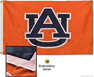 College Flags & Banners Co. Auburn Embroidered and Stitched Nylon Flag