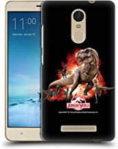 Official Jurassic World T-Rex VS. Velociraptors Key Art Hard Back Case Compatible for Xiaomi Redmi Note 3 / Pro