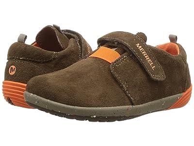 Merrell Kids Bare Steps Sneaker (Toddler) (Brown) Boys Shoes