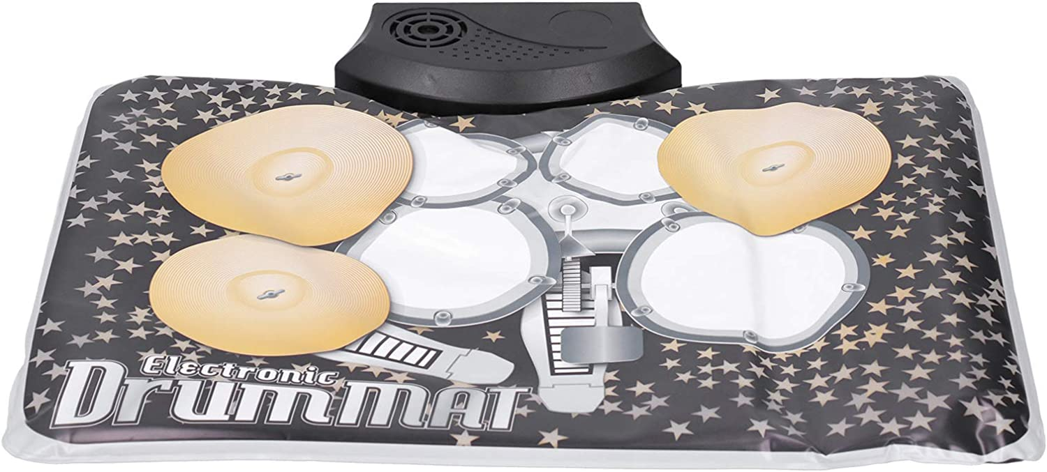 Jopwkuin Drum Pad Musical Instrument Max Free shipping on posting reviews 88% OFF Chil for Home Foldable