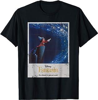Disney Mickey Mouse Fantasia Retro Poster Camiseta