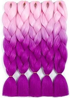 Best purple kanekalon braiding hair Reviews
