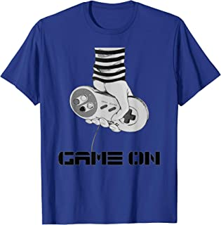 Game On Retro Gamer Gaming Console Joystick Games Cool Funny T-Shirt