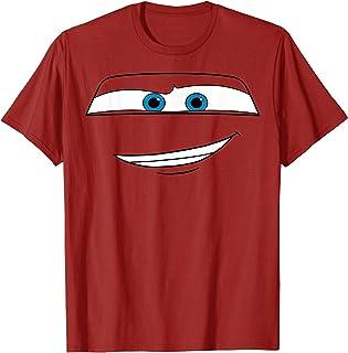 Disney Pixar Cars Lightning McQueen Big Face T-Shirt