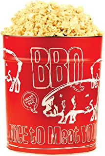 Meat Mitch WHOMP! BBQ Gourmet Popcorn Tin, 3.5 Gallons - Kansas City Style Competition Barbecue