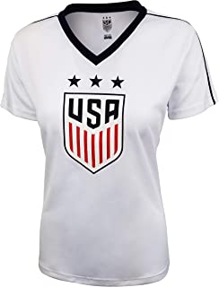 Icon Sports Group U.S.Soccer USWNT Women's Soccer Stadium Polymesh Tee