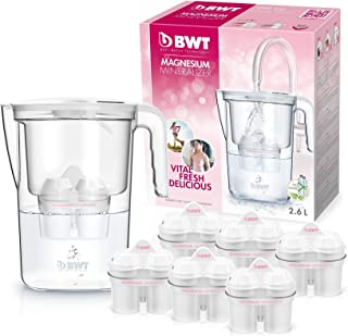 BWT Speciale–Caraffa da Acqua filtrante, con magnesio, Modello Vita Manuale + Set di 6filtri Magnesium Mineralizer