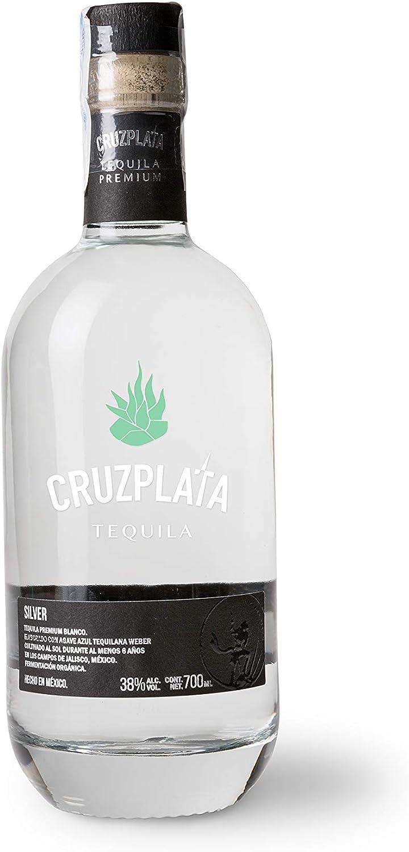 Tequila Blanco Premium CRUZPLATA Silver Botella 700 ML - Tequila CRUZ PLATA
