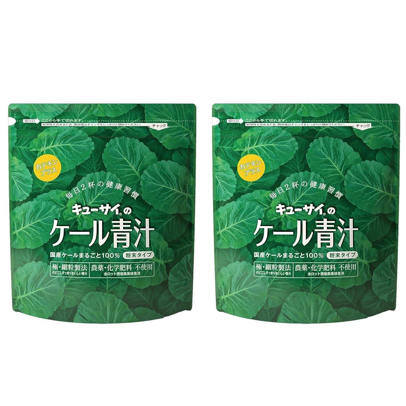 フェローシップ余計なジェムキューサイ青汁カテキンプラス420g(粉末タイプ)2袋まとめ買い【1袋420g(約1カ月分)】