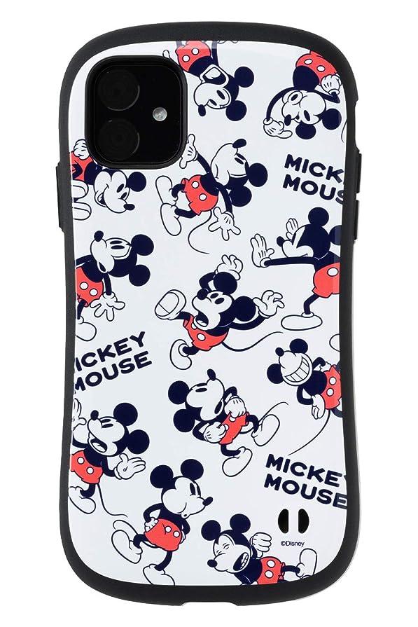 より良い関数光電iFace ディズニー iPhone 11 ケース First Class [ミッキーマウス/総柄]