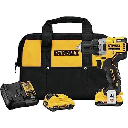 DEWALT XTREME 12V MAX Cordless Drill / Driver Kit, 3/8-Inch (DCD701F2)