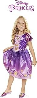 Disney Princess 4315 Rapunzel Explore Your World Dress, Size: 4-6x, Purple/