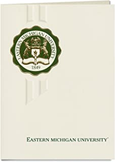 Signature Announcements Eastern Michigan University Graduation Announcements, Elegant style, Basic Pack 20 with Eastern Michigan U. Seal Foil
