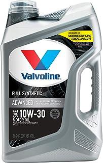Best Valvoline Advanced Full Synthetic SAE 10W-30 Motor Oil 5 QT Reviews