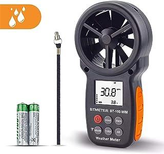 BTMETER Digital Anemometer Barometer Handheld, for Wind Speed Temperature Wind Chill Tester w/Humidity, Altitude, Barometr...