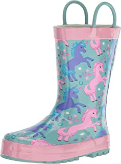 حذاء المطر للأطفال مطبوع مقاوم للماء من ويسترن شيف