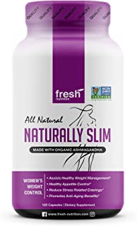 ORGANIC - Naturally Slim Womens Weight Loss Supplement and Fat Burner Pills - Best for Natural Weight Loss - CCOF Organic ...