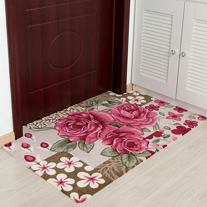 WENRAN Anti Slip Modern Carpet,Doormat Carpet for Hall Bedroom Living Room Rugs-B 100x150cm(39x59inch)